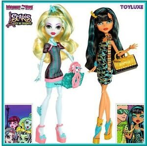 Monster-High-Scaris-Exclusive-LAGOONA-amp-CLEO-Doll-2-Pack-Set-City-of-Frights-NEW