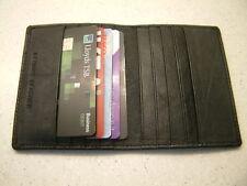 LUXURY SLIMLINE PREMIUM QUALITY LEATHER BUSINESS CARD CREDIT CARD HOLDER WALLET