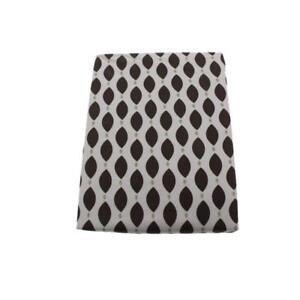 Kids-Line-Brown-Cotton-Geometric-Print-Crib-Sheet-Bedding-Crib-BHFO-2541