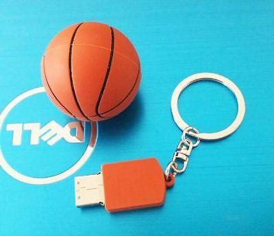 Cool Basketball Model USB 3.0 Memory Stick Flash pen Drive 8GB 16GB 32GB OBUP253