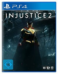 Injustice-2-DayOne-Edition-ps4-NUOVO-amp-OVP-Uncut