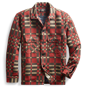 RRL Ralph Lauren Early 20th Century Inspired Hunting Over Shirt Jacket- M