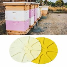 8-Way Beekeeping Beehive Box Entrance Gate Round Equipment Vents Bee Escape QK