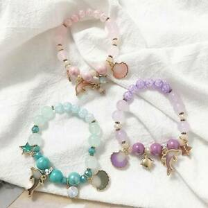 Marine-Dolphin-Shell-Flower-Bracelet-Crystal-Beads-Bracelet-Beach-Women-Jewelry