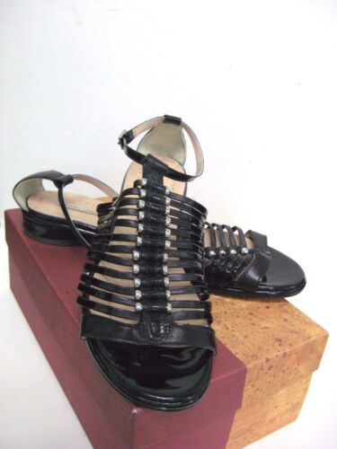 Openingsceremonie Black Original Platte In Eu damesschoenen 41 Box AR34jLq5