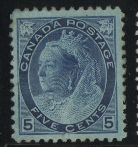 MOTON114-79-Numeral-5c-Canada-mint-well-centered