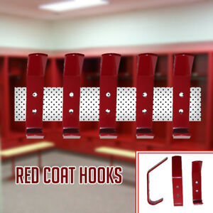 Image Is Loading New Red Coat Hooks Door Wall Hooks Changing
