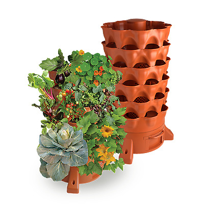 NEW Garden Tower 2 - Grow 50 Herbs & Veggies at home in just 1.2sqm