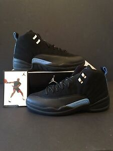 check out 0b08a 26bc5 Image is loading Air-Jordan-Retro-12-Nubuck-2003-Release-Package-