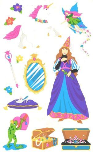 ~ Princess Magical Girl Unicorn Fairy Treasure Frog Wand Mrs Grossman Stickers ~