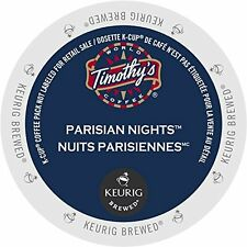 Timothy's World Coffee Parisian Nights K-Cup 96 count), New, Free Shipping