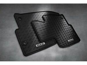 Details About 2016 2019 Mazda Cx 9 Front All Weather Rubber Floor Mats Set Of 2 0000 8b N34