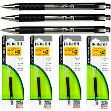 Black Ink Medium Point 2-Cou 0.7Mm Zebra G-301 Stainless Steel Pen Jk-Refill