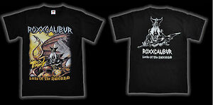 ROXXCALIBUR-Lords-Of-The-NWOBHM-T-Shirt-size-L-NEW