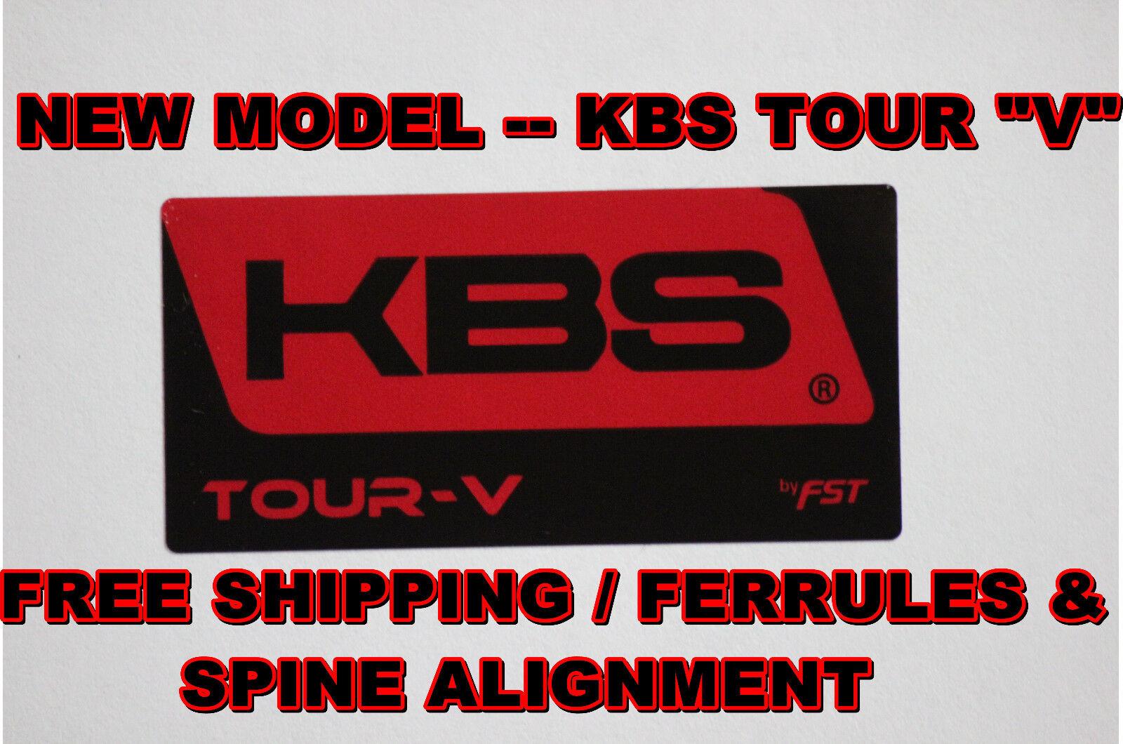 KBS Tour V Ejes De Hierro-Usted Elige Flex y configuración .355 forma cónica