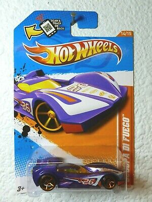RED BODY 2012 Hot Wheels 24 OURS #69 Track Stars /'12