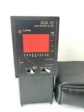 Gold Line Asa10 Audio Spectrum Analyzer Hand Held Generator With Case