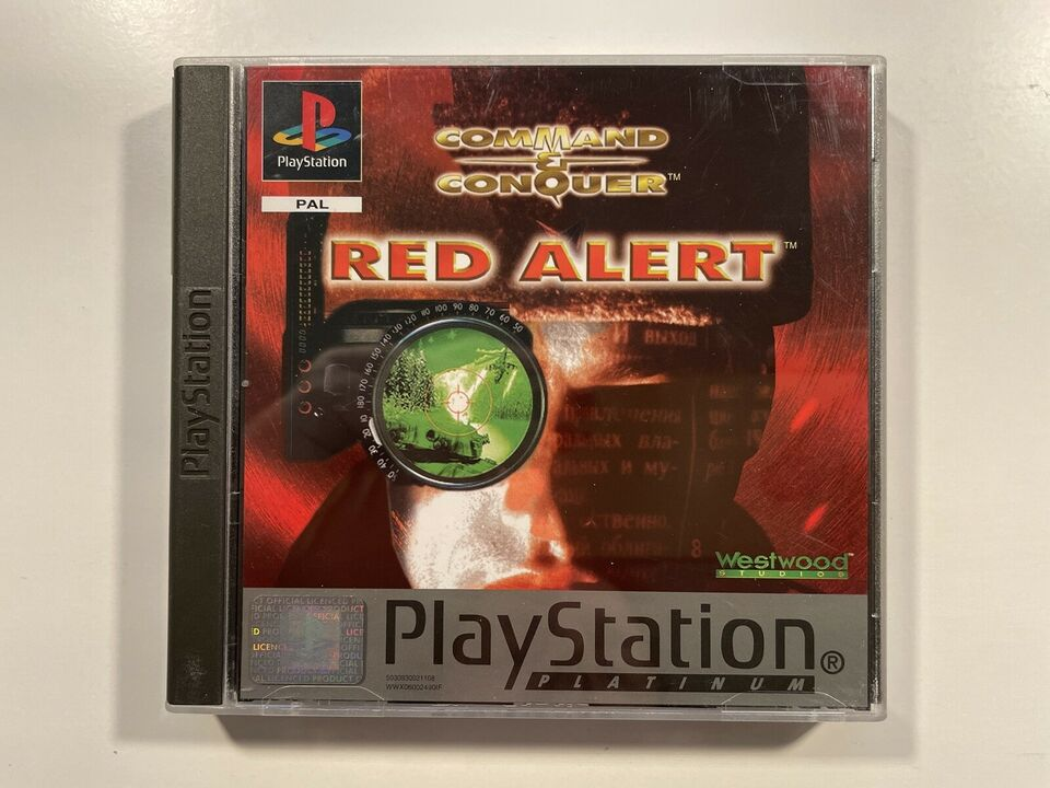Command and Conquer, Red Alert, PS
