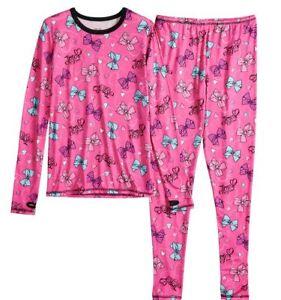 b42513a4d NWT Nickelodeon JoJo Siwa Pink Bow 2Pc Pajama Set Size 4 5 6 6X 7 8 ...