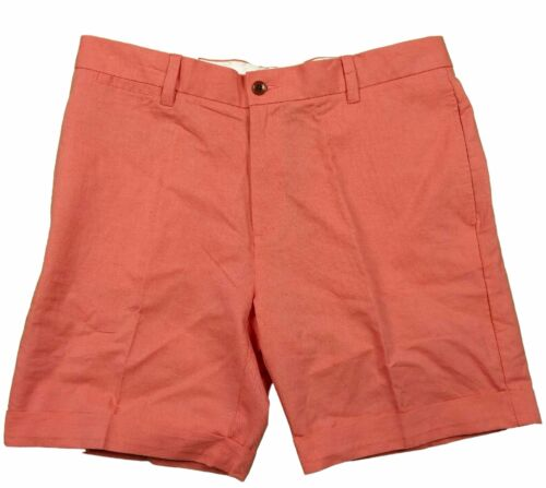 Tommy Hilfiger Custom Fit Hot Coral Shorts in 40W