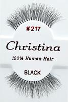 Christina 217 6,12 Pairs 100% Human Hair False Eyelashes