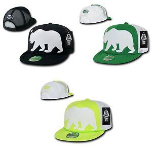 1 Dozen WHANG California Cali Republic Bear Trucker Snapback Hats ... 5b3dc018dc3d