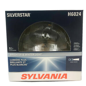 Details About Sylvania H6024 2d1 Silverstar High Performance Halogen Headlight 7 Round Par56