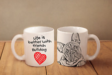 Französische Bulldogge - Keramik Becher DE