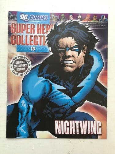DC COMICS SUPER HERO FIGURE COLLECTION ISSUE 19 NIGHTWING EAGLEMOSS MAGAZINE
