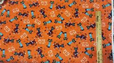 PETE THE CAT Cotton Fabric by-the-half-yard