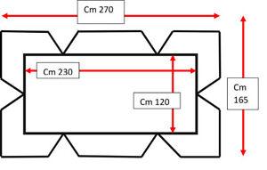 TETTO-DONDOLO-4-POSTI-270-X-165-CM-RICAMBIO-GIARDINO-Z822