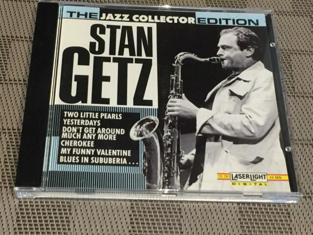 Musik CD STAN GETZ – The Jazz Collector Edition (1992) / Sammlungsauflösung !!!
