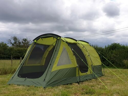 4 couchette Festival Tente de quatre personne week-end Camping Tente-OLPro Abberley XL