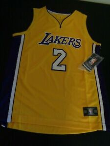 1a81668b3e39 Image is loading LONZO-BALL-Los-Angeles-LAKERS-Basketball-Fanatics-Replica-