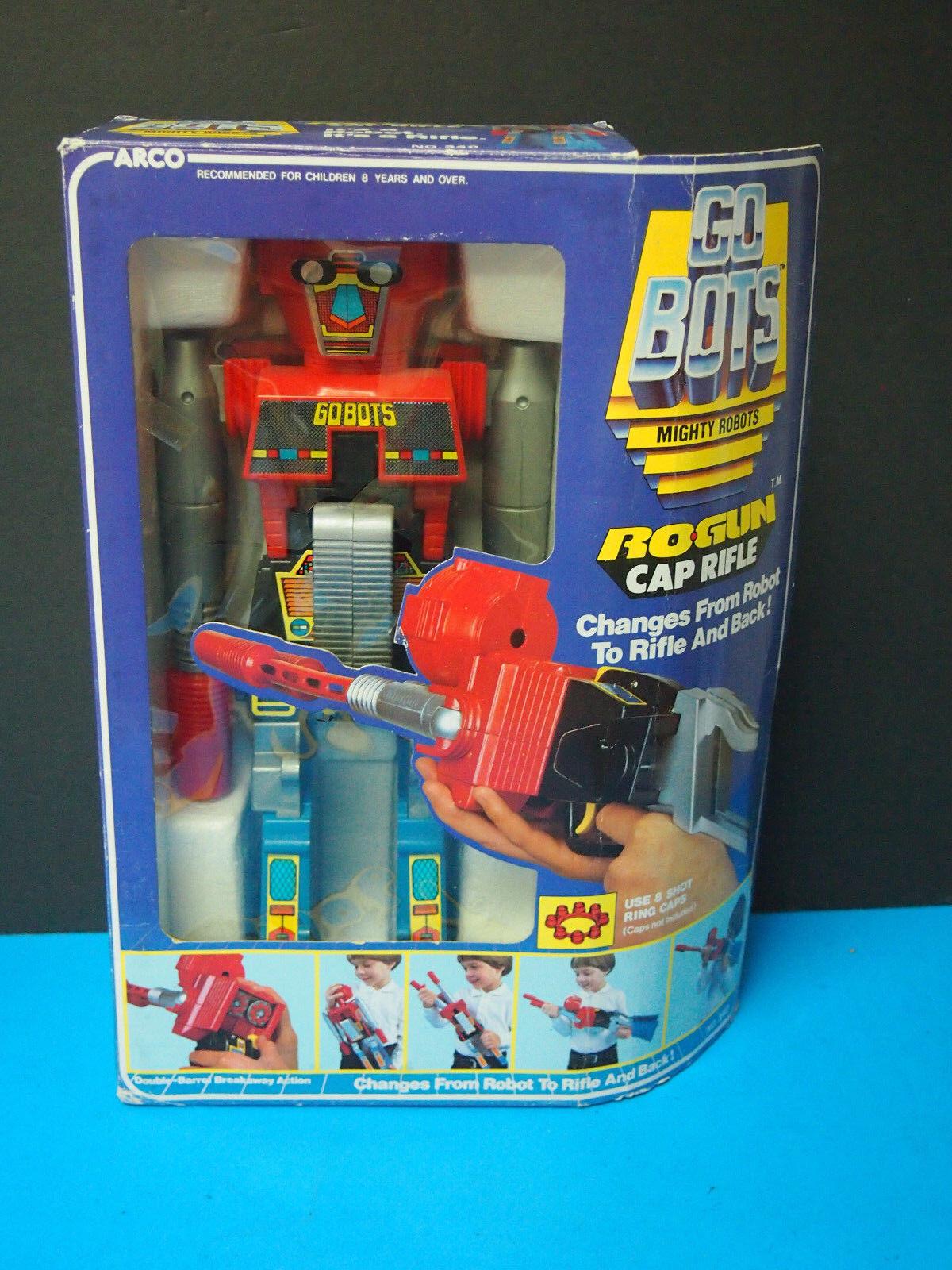 GOBOTS ROGUN Robot Gun Cap Rifle Arco 1984 Mighty Robots