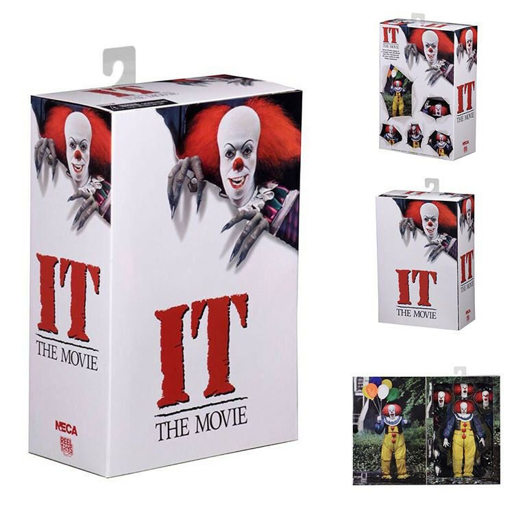 1990 Pennywise Classic IT NECA Action Figure 1990 TV Horror Series Tim Curry