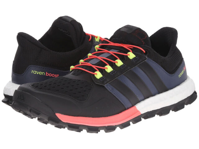size 40 04c81 a23d9 NEW Adidas Womens Shoes adistar raven boost w Sz 11 B25108 Trail Running  Black