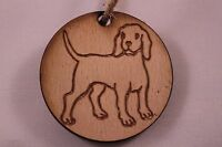Christmas Tree Decoration Dog. Vintage shabby chic  - Labrador / Hound / Puppy
