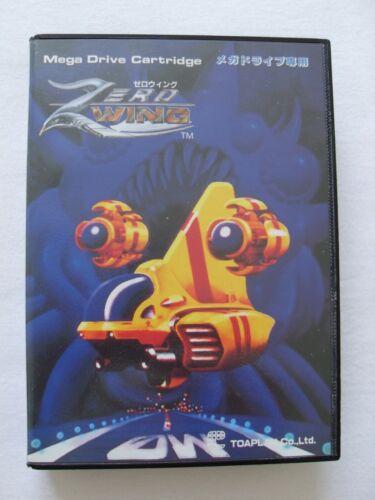 Zero Wing Jeu Sega Mega Drive complet version japonaise NTSC - très bon état
