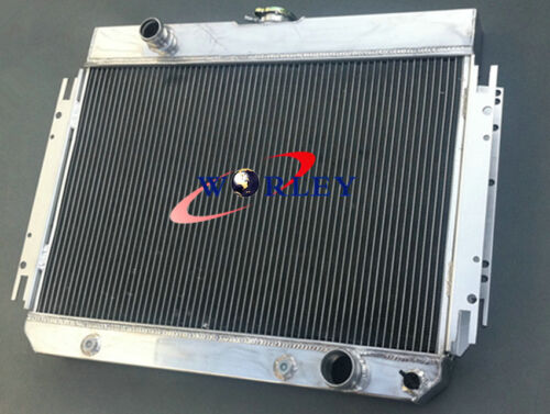 Aluminum Radiator+Shroud+Fan For CHEVY CHEVELLE IMPALA BISCAYNE Bel Air 63-68