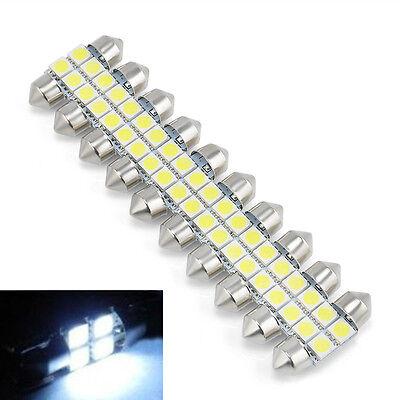 10X 5050 31mm 4SMD LED White Light Car RV Interior Dome Festoon Bulbs Lamp DC12V