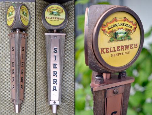Sierra Nevada Steam Punk Brass 3 Side-Kellerweis Hefeweizen Beer Tap Handle