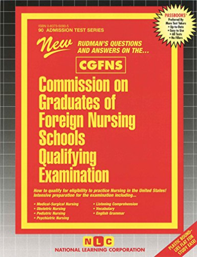 National Learning Corporation-Commission On Graduates Of Foreign Nursin BOOK NEW