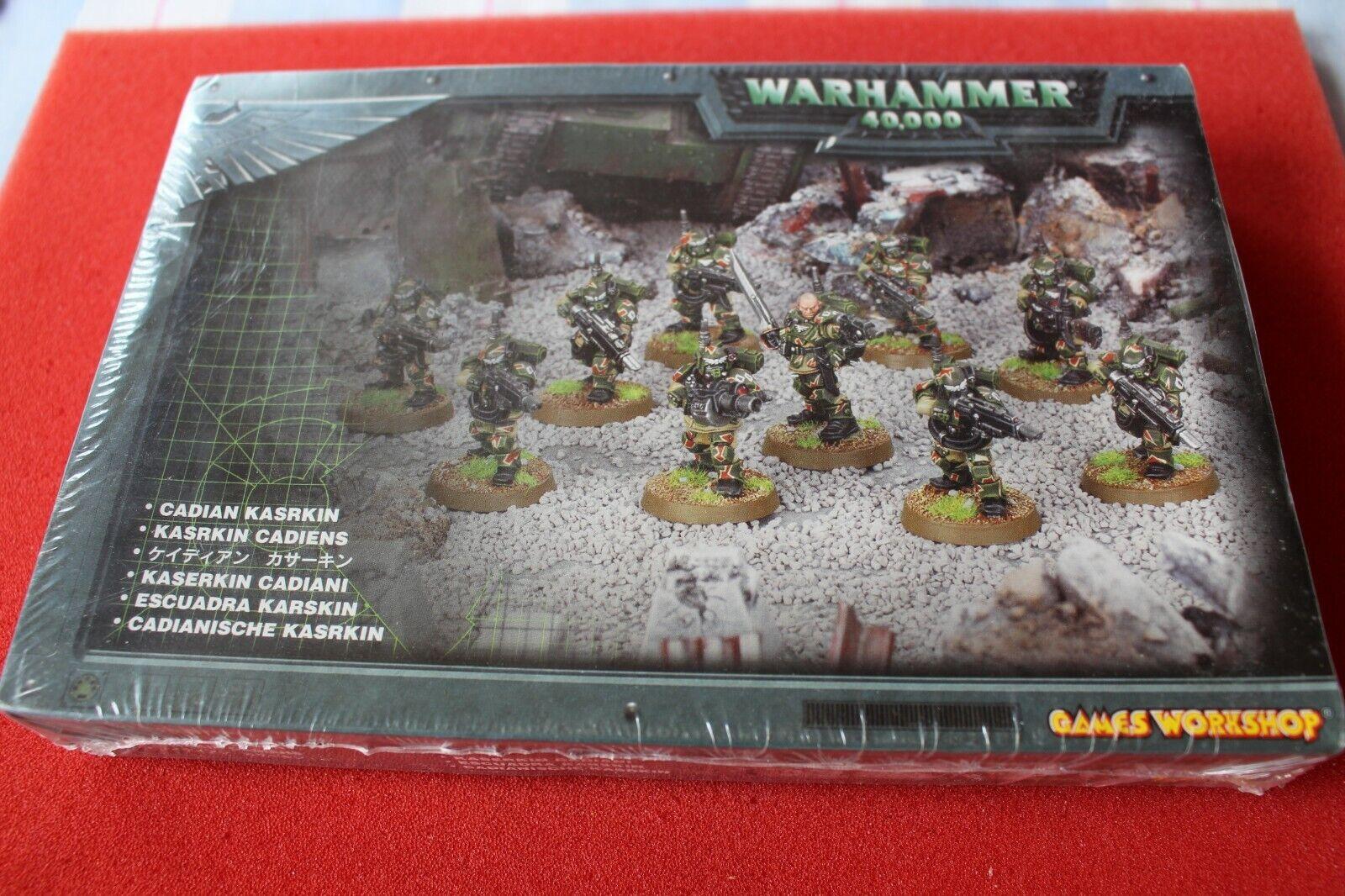 giocos lavoronegozio  WARHAMMER 40k kasrkin Stormtrooper squadra in scatola Storm Trooper Set  vendite calde