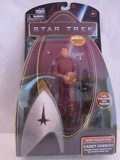 Star Trek CADET CHEKOV Warp Collection 61618 Poseable 2009  NOC (316DJ15)