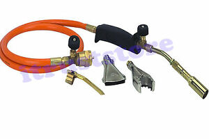 Propane Burning Heater Lpg Gas Torch Pipe Brazing Solder