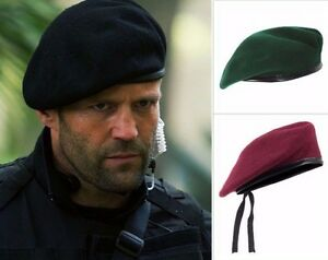 Men Cool Mix Wool Military Special Force Army French Artist Hat Cap ... 89a828ed256