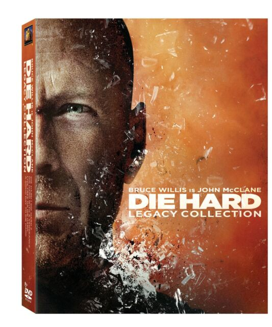 DIE HARD LEGACY - COMPLETE BOXSET 1 2 3 4 AND 5 -  NEW / SEALED DVD