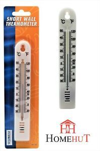 WALL-THERMOMETER-INDOOR-OUTDOOR-GARDEN-GREENHOUSE-HOME-OFFICE-ROOM-155
