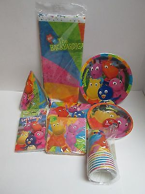 9 PACKAGES BACKYARDIGANS DELUXE BIRTHDAY PARTY SET Party Supplies